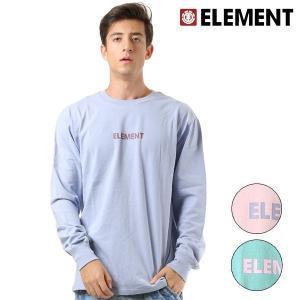 メンズ 長袖 Tシャツ ELEMENT エレメント AI022-051 FX3 I6|murasaki