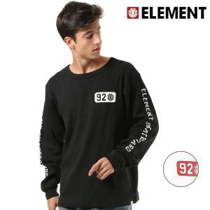 メンズ 長袖 Tシャツ ELEMENT エレメント AI022-058 FX3 I6|murasaki