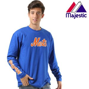 メンズ 長袖T シャツ Majestic マジェスティック03-NM-8F01 FX3 I6|murasaki