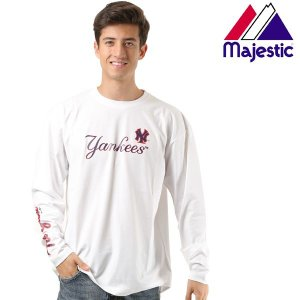メンズ 長袖 Tシャツ Majestic マジェスティック03-NY-8F01 FX3 I9|murasaki