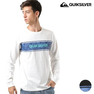 メンズ 長袖 Tシャツ QUIKSILVER クイックシルバー QLT184041 FX3 H18 murasaki