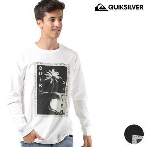 メンズ 長袖 Tシャツ QUIKSILVER クイックシルバー QLT184048 FX3 H18 murasaki