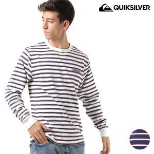 メンズ 長袖 Tシャツ QUIKSILVER クイックシルバー QLT184049 FX3 H18 murasaki