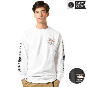 【SALTY CREW】ソルティークルーのメンズ長袖Tシャツ。 南カリフォルニアはサンディエゴより発...