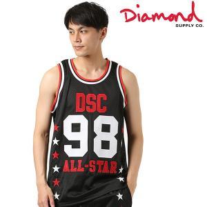 SALE セール メンズ タンクトップ Diamond Supply Co. ダイヤモンド サプライ DSC ALLSTAR JERSEY B18DMTZ001 FF2 E30|murasaki