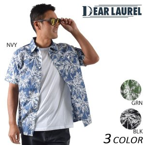 メンズ 半袖 シャツ DEAR LAUREL ディアローレル 14713104 EE1 D14|murasaki
