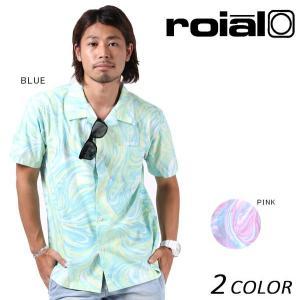 メンズ 半袖 シャツ roial ロイアル MT273 EE2 F9|murasaki