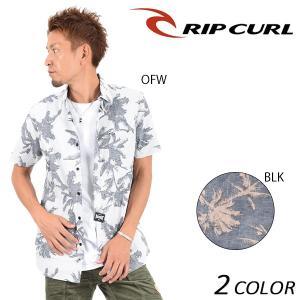 SALE セール メンズ 半袖 シャツ RIPCURL リップカール V01-122 F1S E15|murasaki