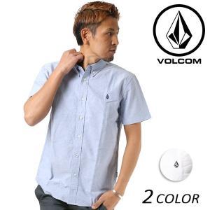 SALE セール メンズ 半袖 シャツ VOLCOM ボルコム VS OX S/S A04118JC FF1 C26|murasaki