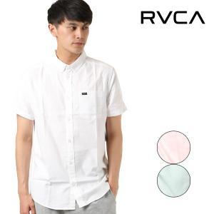 SALE セール メンズ トップス 半袖 シャツ カジュアル RVCA ルーカ AI041-129 FF1 シンプル カジュアルシャツ E29|murasaki