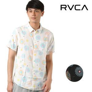 SALE セール メンズ トップス 半袖 シャツ カジュアル RVCA ルーカ AI041-132 FF1 シンプル カジュアルシャツ E29|murasaki