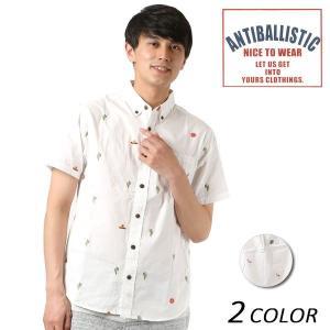 メンズ 半袖 シャツ ANTIBALLISTIC アンティバルリスティック 182AM109002 FF1 D18|murasaki