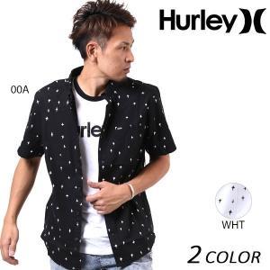 メンズ 半袖 シャツ Hurley ハーレー MVS0003660 EE1 C10|murasaki
