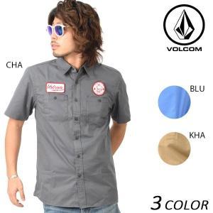 メンズ 半袖 シャツ VOLCOM ボルコム Fill It Up A04117JD EE1 D30|murasaki