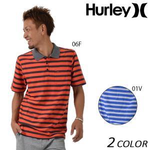 メンズ 半袖 ポロシャツ Hurley ハーレー MKT0005750 EE2 F14|murasaki