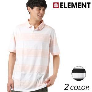 SALE セール メンズ 半袖 トップス ポロシャツ ELEMENT エレメント AI021-171 FX2 D20|murasaki