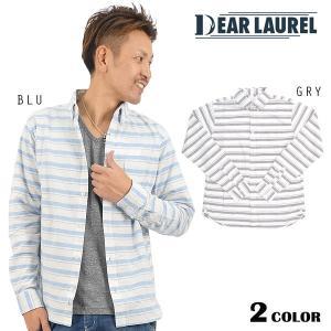 SALE セール 50%OFF メンズ長袖シャツ DEAR LAUREL ディアローレル 14613203 DD1 A15 murasaki