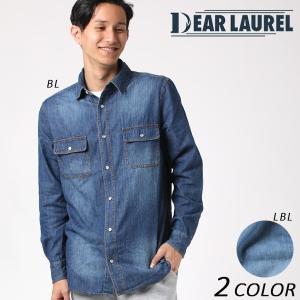 SALE セール メンズ 長袖 シャツ DEAR LAUREL ディアローレル 172602 EE3 I15|murasaki