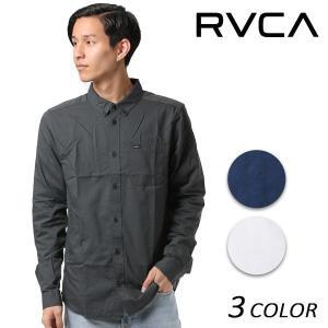 メンズ 長袖 シャツ RVCA ルーカ AH042-100 EE3 I25|murasaki