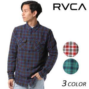 メンズ 長袖 シャツ RVCA ルーカ AH042-101 EE3 I25|murasaki