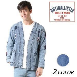 メンズ 長袖 シャツ ノーカラー ANTIBALLISTIC アンティバルリスティック 181AN105017 FF1 L29|murasaki