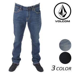 送料無料 メンズ ロングパンツ (デニム) VOLCOM ボルコム Vorta Form A19117JA EE3 J11 murasaki