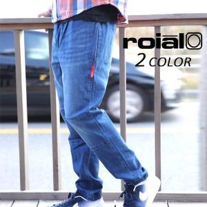 送料無料  メンズ ロング パンツ (デニム) roial ロイアル CO21D EE3 H16 murasaki