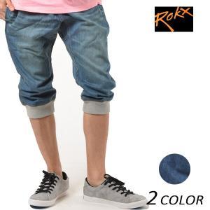 SALE セール メンズ 七分丈 クロップド パンツ ROKX ロックス COTTONWOOD DENIM CRO RXMS6204 ロングパンツ ショートパンツ FX1 D13|murasaki