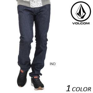 SALE セール メンズ ロング パンツ (デニム) VOLCOM ボルコム Vorta Form Denim A1931502 DD3 J31 murasaki