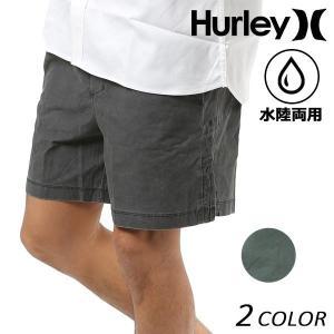 SALE セール メンズ 水着 海水パンツ ハイブリッド ショートパンツ 水陸両用 Hurley ハーレー 895080 17インチ丈 FF1 C24|murasaki
