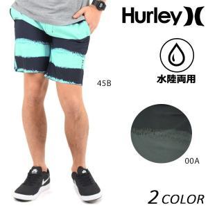 SALE セール メンズ 水着 トランクス ハイブリッドショートパンツ 水陸両用 Hurley ハーレー MWS0004680 F1S E19|murasaki