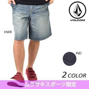 メンズ ショートパンツ VOLCOM ボルコム Denim Short Pants A20117JA 限定商品 EE1 E7 MM|murasaki