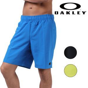 SALE セール 20%OFF メンズ ハイブリット ショートパンツ OAKLEY オークリー 482274 18インチ丈タイプ EE1 F15|murasaki