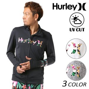 メンズ 長袖 ラッシュガード Hurley ハーレー MKNZLY82 FF1 C28|murasaki