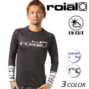 SALE セール メンズ 長袖 ラッシュガード roial ロイアル RG44 FF1 C27|murasaki