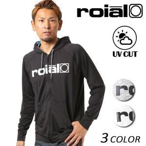 メンズ 長袖 ラッシュガード roial ロイアル RG45 FF1 C27|murasaki