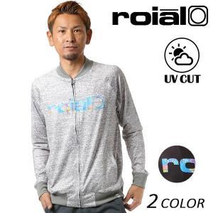 メンズ 長袖 ラッシュガード roial ロイアル RG46 FF1 C27|murasaki