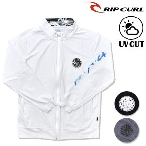 メンズ 長袖 ラッシュガード ジップアップ RIP CURL リップカール V01-862 F1S G4|murasaki