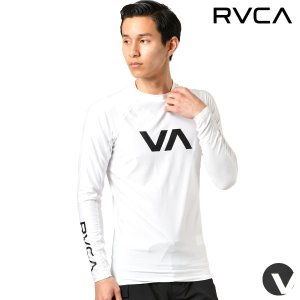 【RVCA】ルーカのメンズ長袖ラッシュガード。 サーフィンライフに欠かせないユーティリティラッシュガ...
