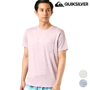 【QUIKSILVER】クイックシルバーのメンズ半袖Tシャツ。 ユーティリティなのでラッシュガードと...