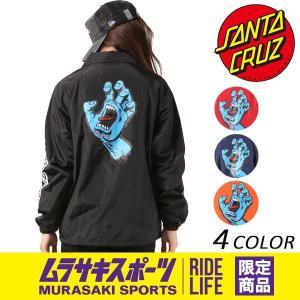 レディース ジャケット SANTA CRUZ サンタクルーズ コーチJK SCREAMING HAND 50273103 ムラサキスポーツ限定 FF J16|murasaki