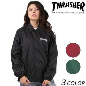 送料無料 レディース ジャケット THRASHER スラッシャー MAG COACH JACKET TH8901C-L FF J3|murasaki