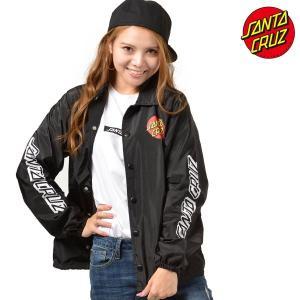 レディース ジャケット SANTA CRUZ サンタクルーズ CLASSIC DOT 50283112 ムラサキスポーツ限定 コーチジャケット FF3 J15|murasaki
