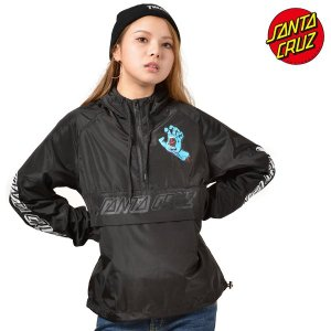 レディース ジャケット SANTA CRUZ サンタクルーズ SCREAMING HAND 50283113 ムラサキスポーツ限定 アノラックジャケット FF3 J15|murasaki