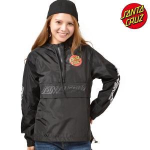 レディース ジャケット SANTA CRUZ サンタクルーズ CLASSIC DOT 50283114 ムラサキスポーツ限定 アノラックジャケット FF3 J15|murasaki