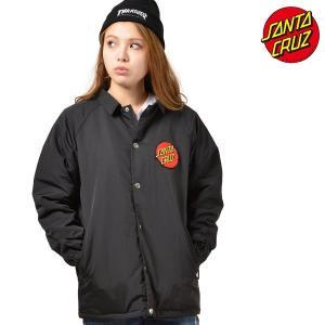 レディース ジャケット SANTA CRUZ サンタクルーズ CLASSIC DOT 50283116 コーチジャケット ムラサキスポーツ限定 FF3 J15|murasaki