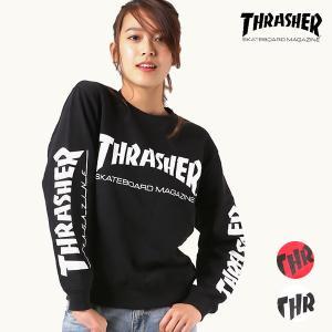 レディース トレーナー THRASHER スラッシャー TH8401-S-L EE3 K25