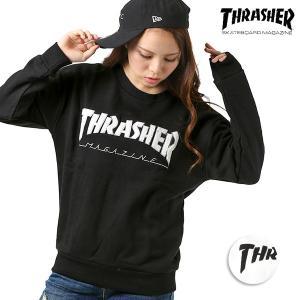 レディース トレーナー THRASHER スラッシャー TH8402LTE-PL EE3 B23