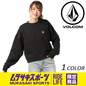 レディース トレーナー VOLCOM ボルコム Jamie Lynn Crop Fleece B31118JA ムラサキスポーツ限定 FF1 B9 MM|murasaki
