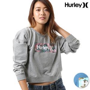 レディース トレーナー Hurley ハーレー GTCFBXFLM ムラサキスポーツ限定 FF3 H22|murasaki